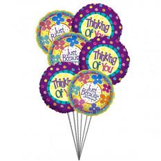 Você está em minha mente (6 balões de mylar)