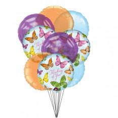 Em seus pensamentos Balões (6 balões de látex e 3-Mylar)