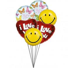 Balões adoráveis (balões de 6-Mylar)