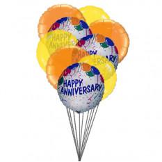 Balões de desejar feliz aniversário