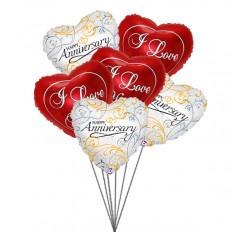 Balões para amados (6 balões Mylar)