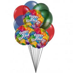 Balões no aniversário