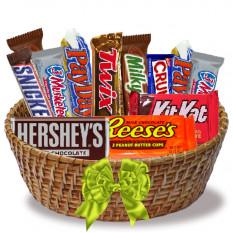 Bouquet de chocolate alegre