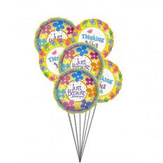 Giftblooms especiais para você (6 Mylar Ballons)
