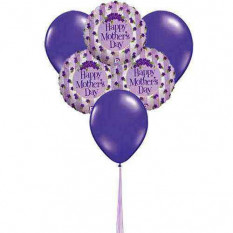 Lavender Love (6-Mylar & 6-Latex Balloons)