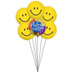 Sorrisos para a celebração do B'day