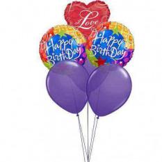 Voando balões com amor