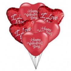 Eu te amo balões