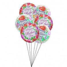 Buquê de balão colorido