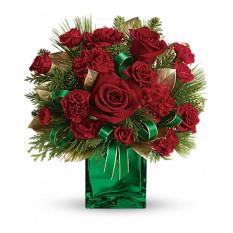 Bouquet de presentes de Giftblooms Yuletide Spirit (Standard)
