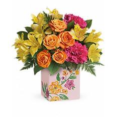Bouquet de Flores Pintadas (Padrão)