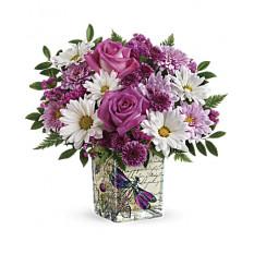 Bouquet de flores silvestres em vôo (padrão)