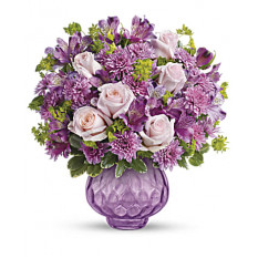 Bouquet de Chiffon de Lavanda (Standard)