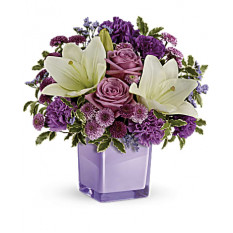 Pleasant Purple Bouquet (Standard)