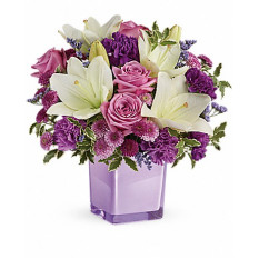 Pleasant Purple Bouquet (Medium)