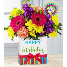 Aniversário Brights Bouquet (Bom)