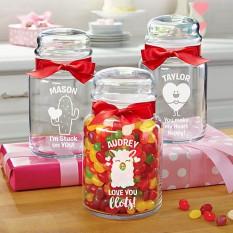 Doce em você frascos de vidro