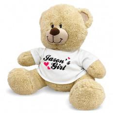 Meu urso de peluche personalizado da menina - 17 polegadas
