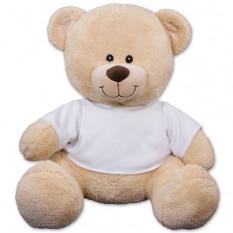 Urso de peluche personalizado dos pares - 17 polegadas