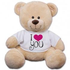 Eu te amo urso Sherman - 17 polegadas