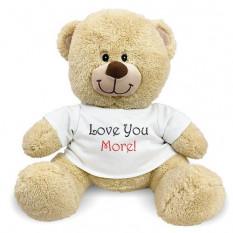 Eu te amo mais ursinho de pelúcia