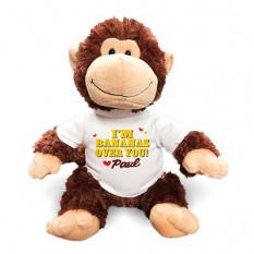 Bananas Personalizadas Sobre Você Chimpanzé - 12 Polegadas