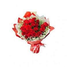 24 Rosas vermelhas
