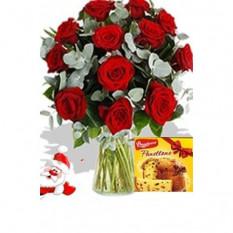 12 rosas e pannetone