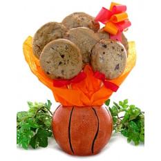 Buquê de presente de basquete (1 dúzia)