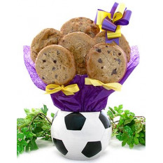 Bouquet de presentes de futebol (1 dúzia)