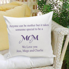 Parents Throw Pillow -16X16