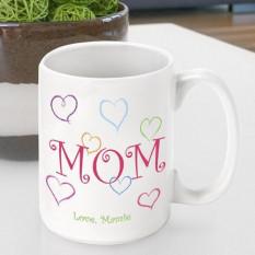 O dia de mãe personalizado caneca