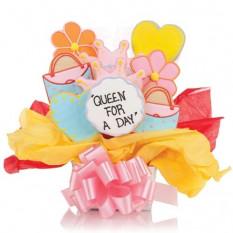 Rainha do dia Cookie Bouquet (12 Cookies)