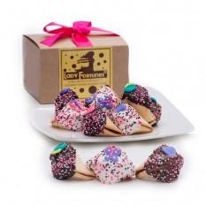 Dia das Mães Mão Embebida e Decorada Fortune Cookie Gift Box