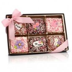 Dia dos pais belga Chocolate Graham Crackers-caixa de presente de 12