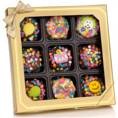 Birthday Chocolate Dipped Oreos, Caixa de 9