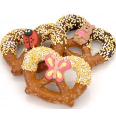 Torquês de Primavera e Caramelo Pretzel - Embalado Individualmente