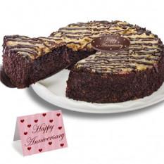 """Bolo alemão de """"aniversário"""" de chocolate"""