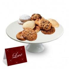 """Uma dúzia de biscoitos gourmet sortidos - """"Dia dos Namorados"""""""