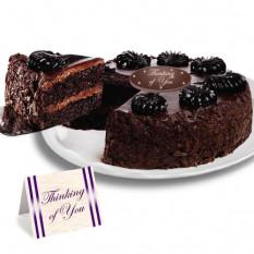 "Mousse de chocolate Torte ""Just Because"" Cake"