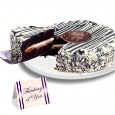 "Mousse preto e branco ""Just Because"" Cake"