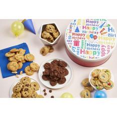 Feliz Aniversário! Estanho Mini-Cookie