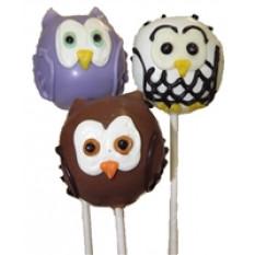 Cake Pops - Owls (12 Pops)