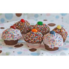 Bolo Trufas - Cupcakes