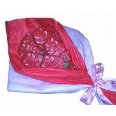Mão Dec. Rose Bouquet de Bolachas, 6 bolachas
