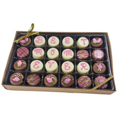 Mini Oreo® Cookies - Melhor Mom Ever, caixa de presente de 24