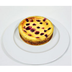Cheesecake de amora assada