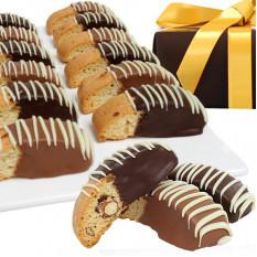Chocolate Belga Mergulhado Biscotti