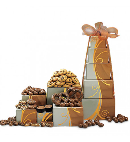 Torre de chocolate